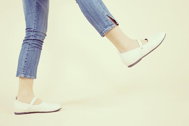 ウォーキングの靴選び