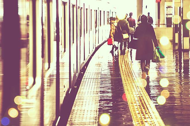 満員電車の迷惑行為