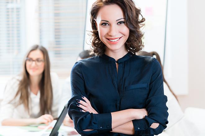 理想の女性マネージャー