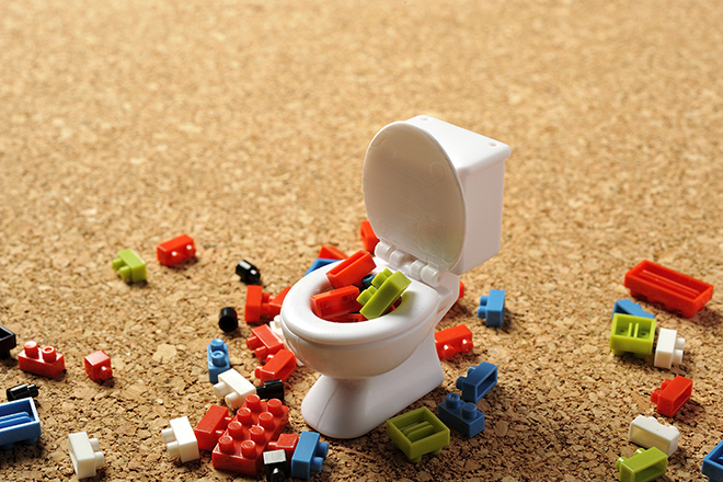 女子トイレの残念な使い方