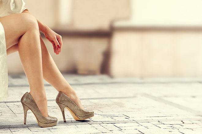 働き女子のためのヒール靴