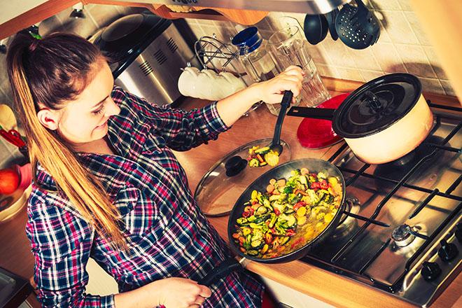 料理のできる女性