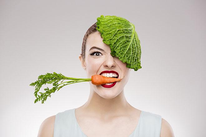 イライラと肌荒れ、野菜不足かも