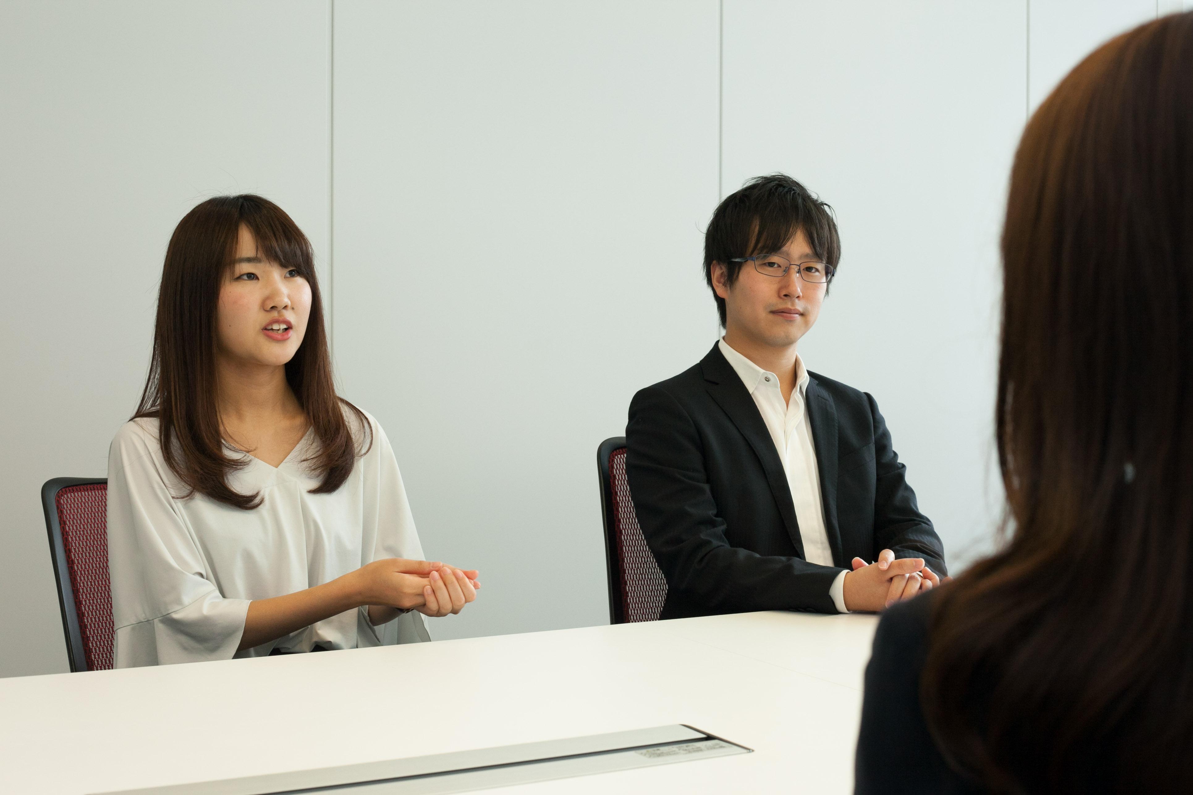 BFT社員佐藤さんと福田さん