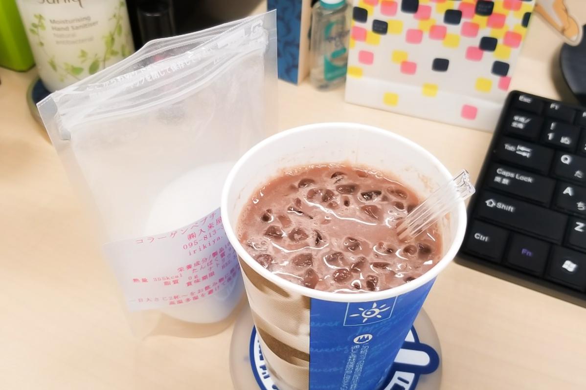 コーヒーやスープにサッと入れてコラーゲン摂取を継続中
