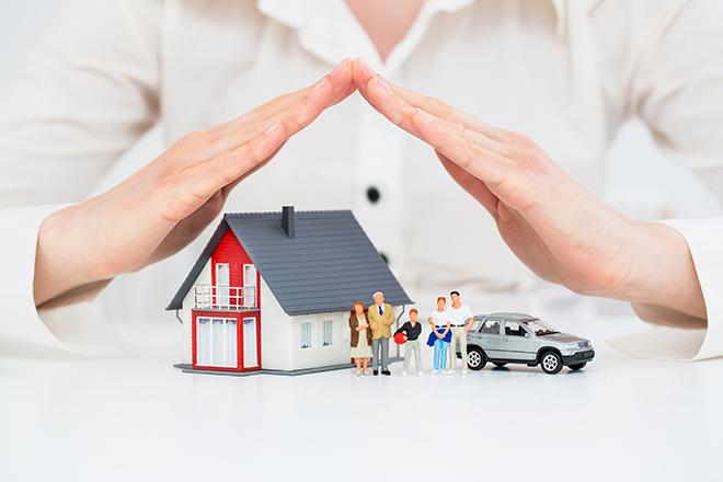 家や車を守る手